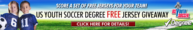 2012 US Youth Soccer Degree Jersey Contest