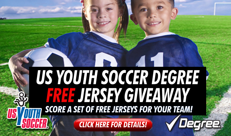 2012 Degree US Youth Soccer Jersey Giveaway Starts April 1