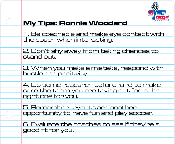 Woodard Tryout Tips