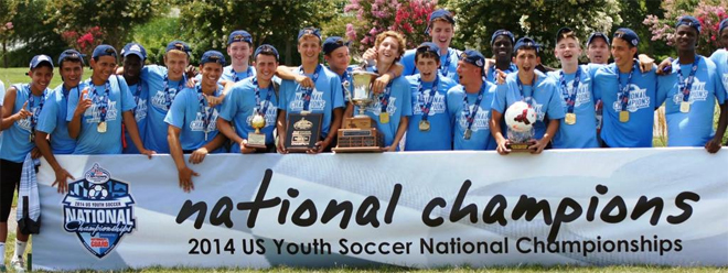 Manhattan SC PSG U17 National Champs