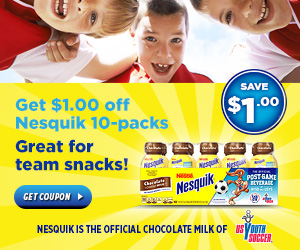 Nesquik - Great For Team Snacks!
