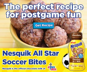 Nesquik All Star Soccer Bites