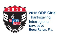 Rosters Announced for 2015 ODP Girls Thanksgiving Interregional