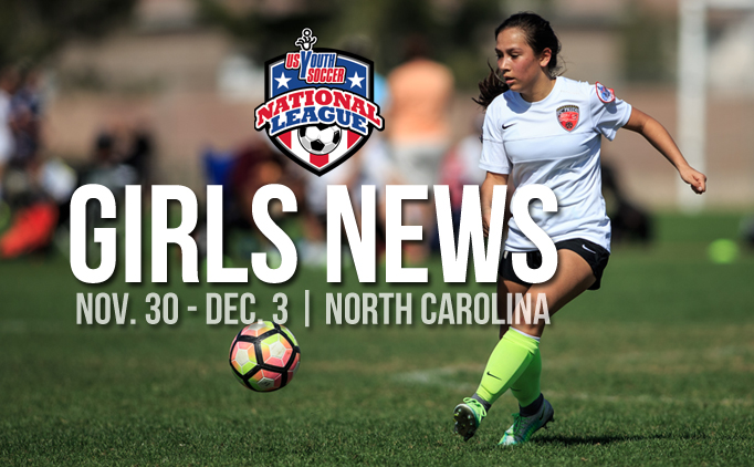 National League Girls News | North Carolina