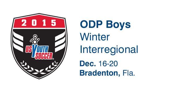 2015 ODP Boys Winter Interregional