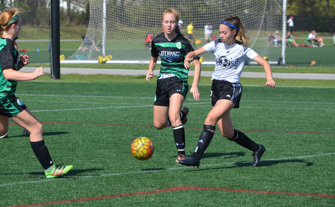 Games kick off at the 2017 MRL Girls Fall Showcase