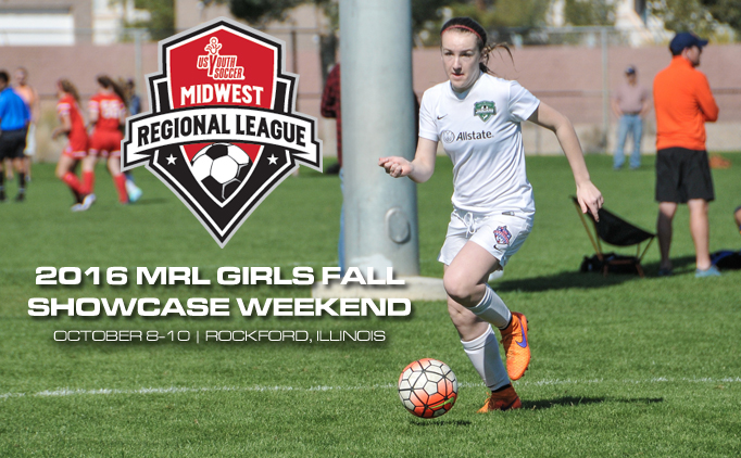2016 MRL Girls Fall Showcase Weekend