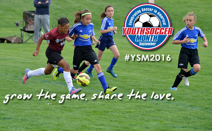Celebrate Youth Soccer Month this September!