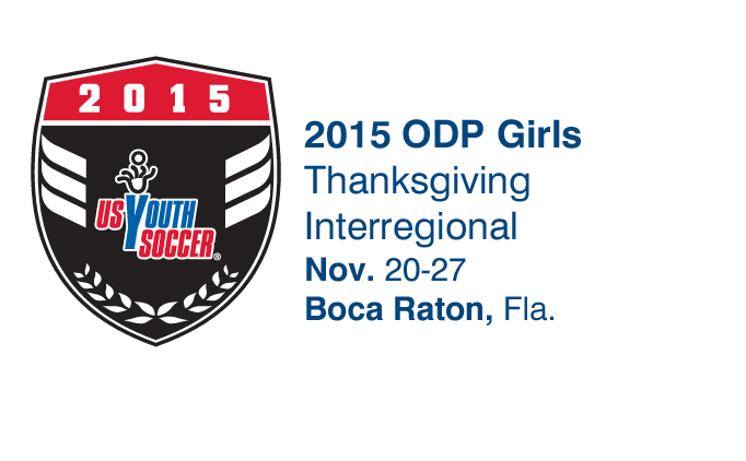 2015 ODP Girls Thanksgiving Interregional