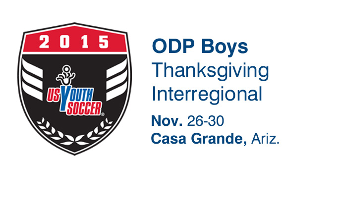 2015 ODP Boys Thanksgiving Interregional