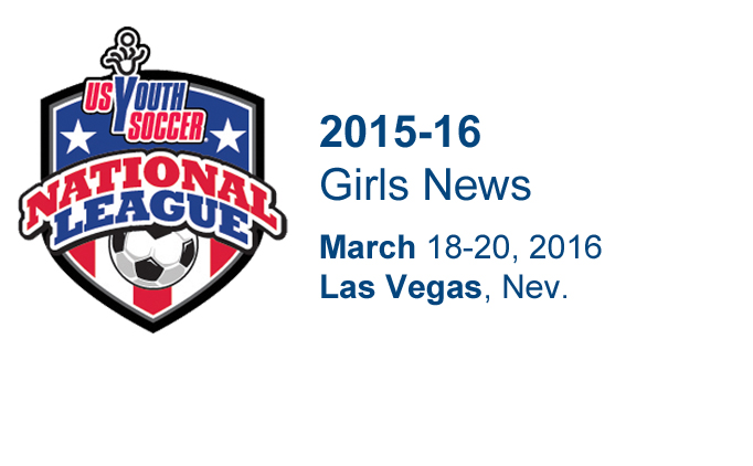 2015-16 National League Girls News | Las Vegas
