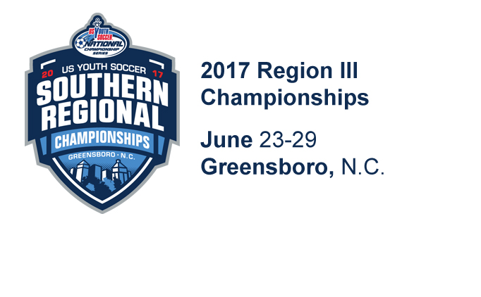 Greensboro, NC, to host Region III Championships