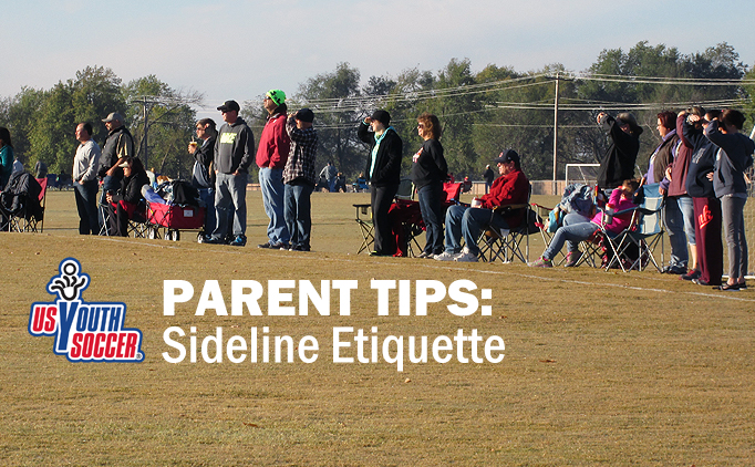 Sideline etiquette: 6 tips for parents at games