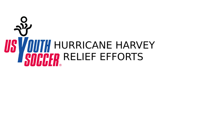 US Youth Soccer Hurricane Harvey Relief Efforts