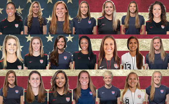 U.S. WNT roster full of US Youth Soccer alums
