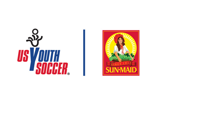 US Youth Soccer Partners With Sun-Maid