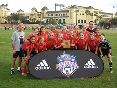 NSA Premier Fury | Under-17 Girls Red division