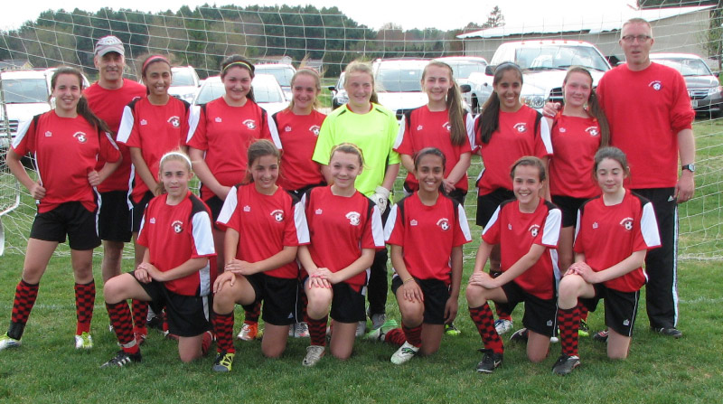U14 Girls in NH