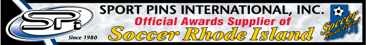 Sport Pins International Inc Official Awards Supplier to Soccer Rhode Island