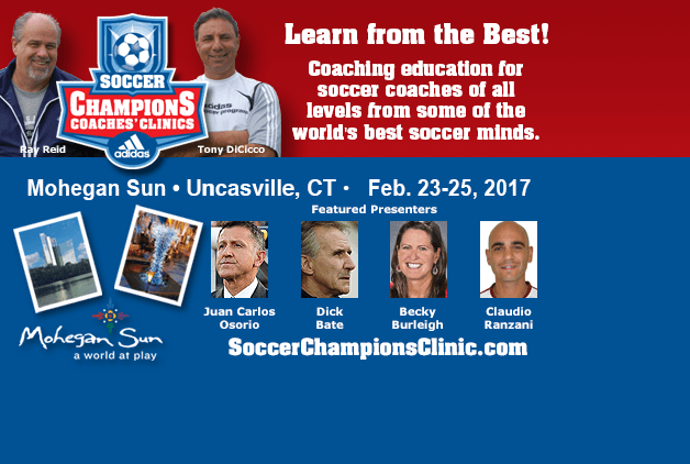 2017 Soccer Champions Coaches' Clinic
