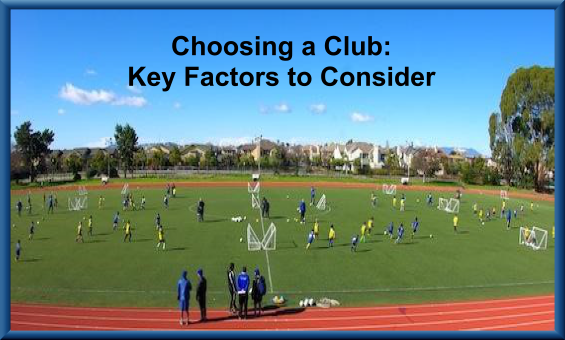 Choosing a Club: Key Factors to Consider