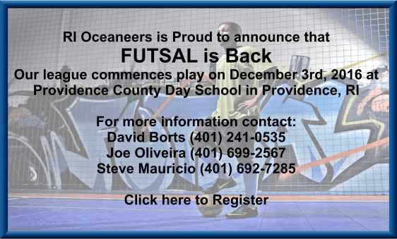 FUTSAL IS BACK!!!