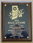 2013_Hall_of_Fame_Plaque  |  Steve Marmas - SRI Public Relations
