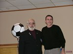 Steve Votolato (SRI President) & Chris Lewin (Hall of Fame Inductee)  |  Pat Stoddard - Assistant Administrator