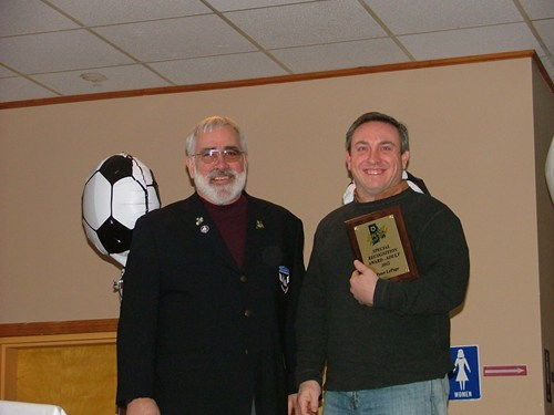 Steve Votolato (SRI President) & Peter LePage - Special Recognition Award Received by Michael Ruggie