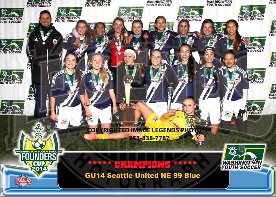 GU14C Seattle United NE 99 Blue-Brdr 5x