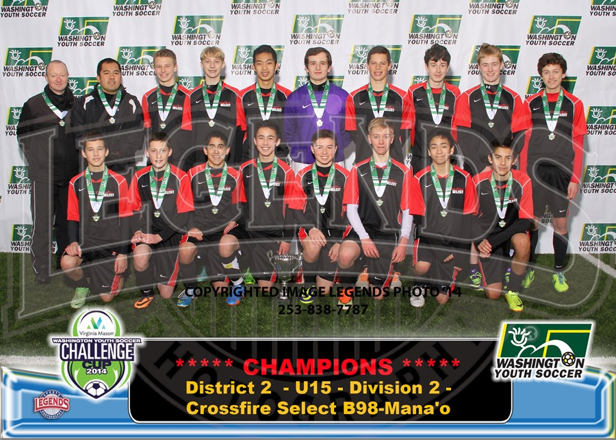 U15C - Division 2 - Crossfire Select B98-Manao-Brdr 5x