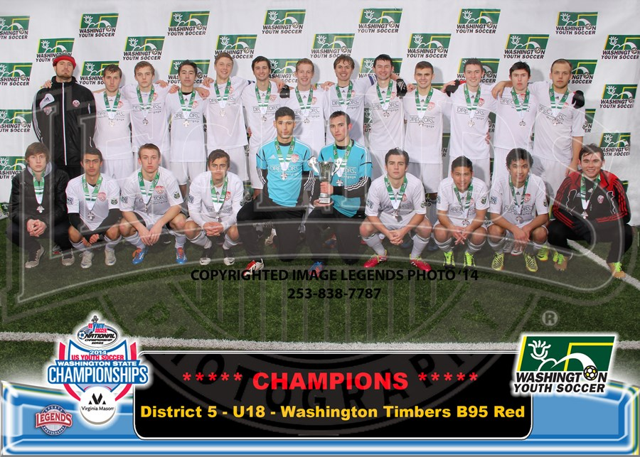 U18C - Washington Timbers B95 Red-Brdr 5x