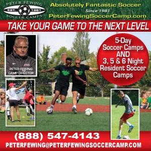 Pete Fewing Soccer Camp