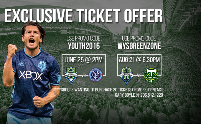 Exclusive Seattle Sounders FC Ticket Offers