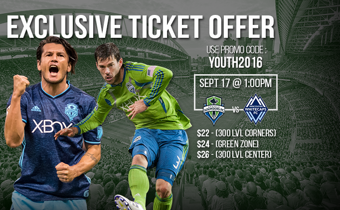 Seattle Sounders FC Ticket Offer