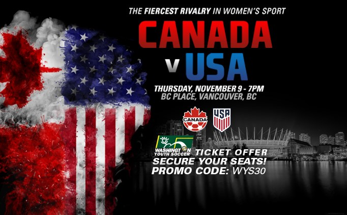 Exclusive Offer: US Women play Canadian Rivals
