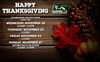 111617_Thanksgiving Holiday