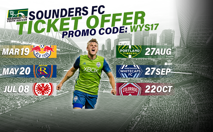 Sounders FC Exclusive Ticket Offer