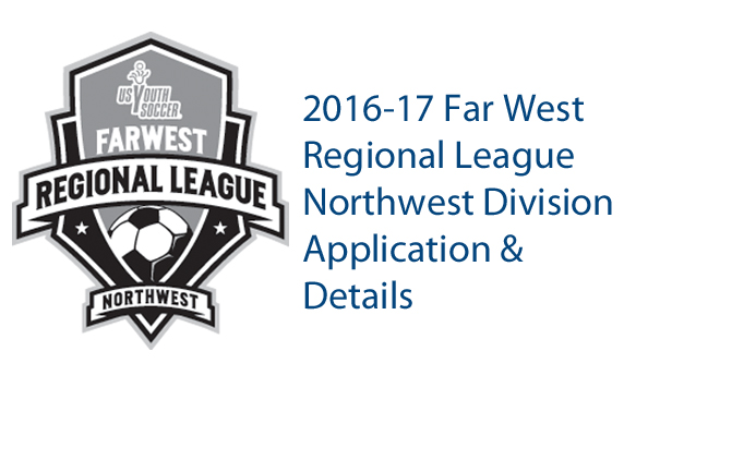 2016-2017 FWRL Northwest Details and Application