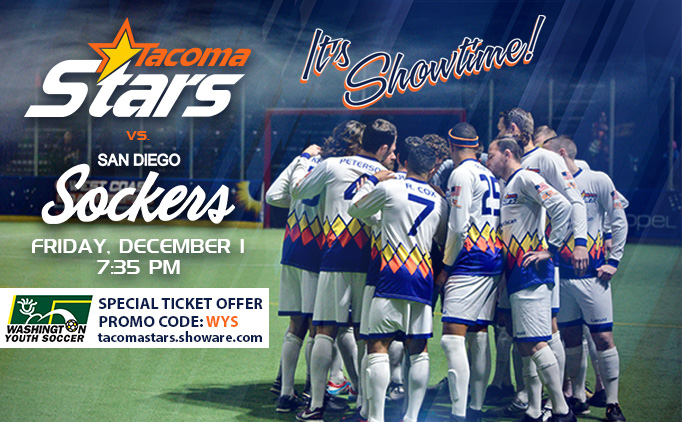 Tacoma Stars Ticket Offer