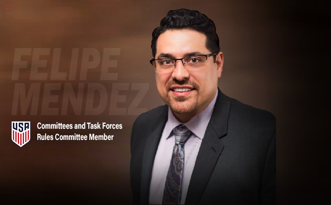 Vice President Felipe Mendez Appointed to USSF...