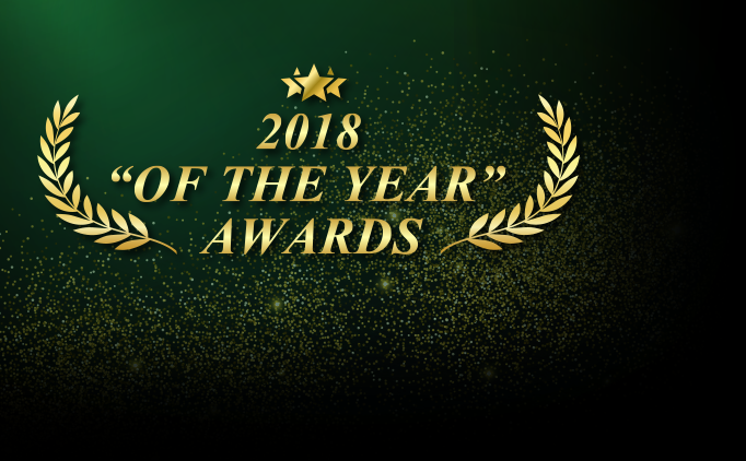 2018 Of The Year Award Winners Announced