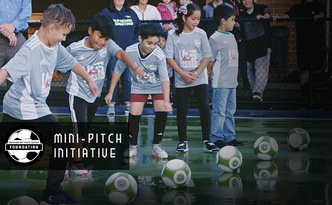 Soccer for Success - Mini Pitch Initiative