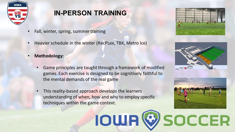 Iowa ODP 2020-2021 - in-person training