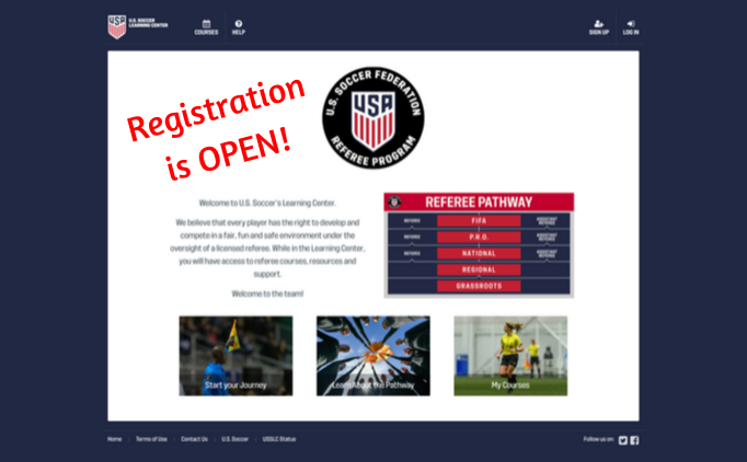 2020 Referee Recertification and Registration