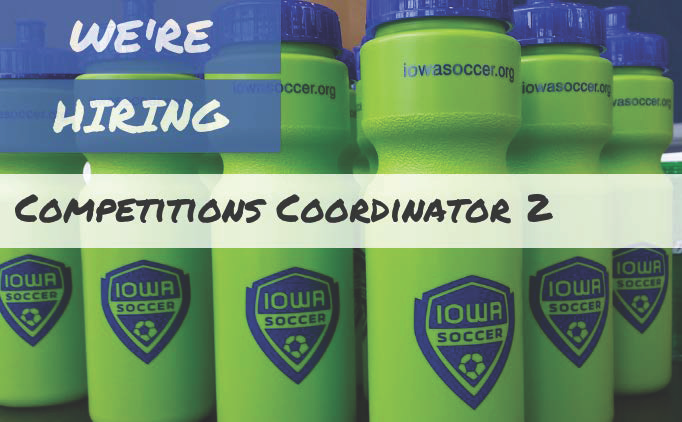 Full-time position: Competitions Coordinator 2