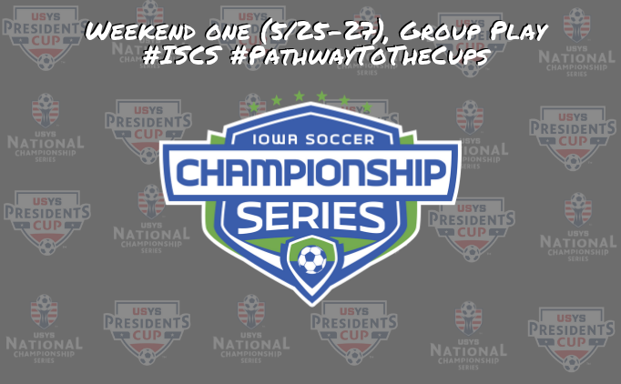 Iowa Soccer Championship Series, Group Play...