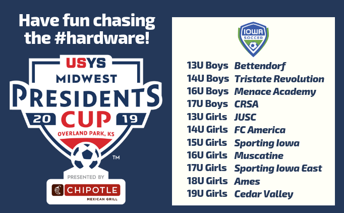 2019 Midwest Regional Presidents Cup
