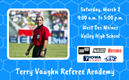 Terry Vaughn Referee Academy