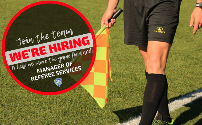 We're hiring: Manager of Referee Services